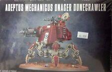 Warhammer 40K ADEPTUS MECHANICUS ONAGER DUNE CRAWLER Walker Tank & Princeps, New