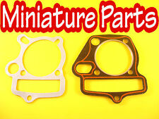PIT BIKE 125CC HEAD GASKET PITBIKE 125 GASKETS 54MM BORE OBLONG OIL RING LIFAN