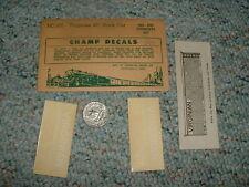 Champ  decals HO HC-101 Viginian 40' Box Car  E52