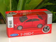 Welly Diecast Model EVO 10 Mitsubishi Lancer Evolution X RED 1-38 (11cm)