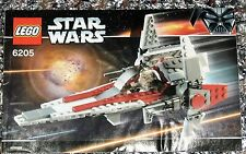 Star wars lego instruction booklet 6205 v-wing instructions livre