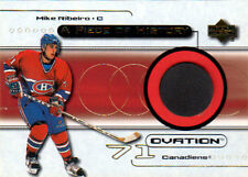 99-00 Ovation PIECE OF HISTORY Game-Used PUCK Mike RIBEIRO - Canadiens