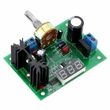 LM317 Regolabile voltage regulator step-down alimentatore modulo con LED Meter