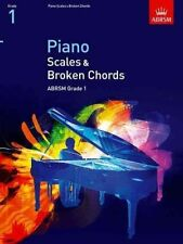 ABRSM Piano Scales & Broken Chords, Grade 1 - Same Day P+P