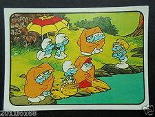 figurines cromos card picture cards figurine i puffi 137 panini 1982 los pitufos