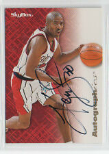 Kenny Smith 1996 SkyBox Autographics certified autographed card Houston Rockets