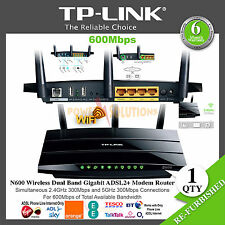 TP-Link N600 Wireless Dual Band Gigabit ADSL2+ Modem Router 600Mbps Phone Line