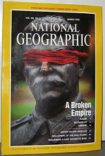 NATIONAL GEOGRAPHIC MARCH 1993 RUSSIA;KAZAKHSTAN;UKRAINE;EASTER ISL;HIGH PLAINS