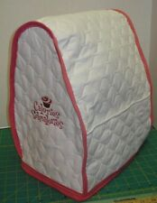KitchenAid Mixer Appliance Cover~Cupcake~Calories Schmalories~Tilt~White Quilted