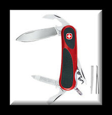 NEW WENGER SWISS ARMY KNIFE EvoGrip™ 10  Red & Black 16810 - 16730