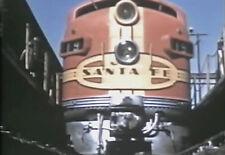 Vintage Train & Railway Movies - Milwaukee Road 1946, The Hiawatha, Track Ahead!