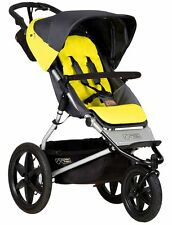 Mountain Buggy Terrain V3 3 Wheel Jogging Stroller Solus FREE CARRY COT NEW