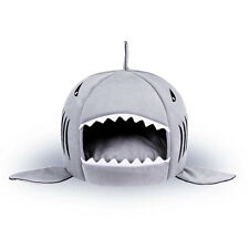 Washable Soft Comfortable Shark Mouth Designed Pet Dog Cat Home House Kennel