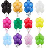 100stück Perlglanz Latex Luftballons Feier Party Hochzeit Geburtstag Deko Neu