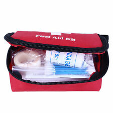 Portable Outdoor First Aid Kit Red Camping Emergency Survival Waterproof Bag fb