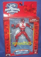 Power Rangers Time Force Red Ranger New 15th Anniversary Edition 6.5 Inch