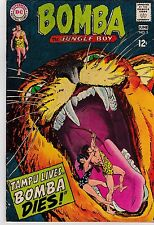 Bomba The Jungle Boy #5 GD 2.0 1968 DC See my store