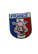 INSIGNE MILITAIRE DRAPEAU PARA ECUSSON FRANCE AIRSOFT PATCH PEGIDA