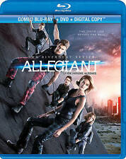 The Divergent Series: Allegiant (Blu-ray/DVD, 2016, Canadian)