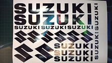 18 SUZUKI DECALS STICKERS see descrption for available colours! best quality