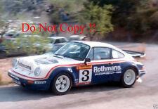 Henri Toivonen Porsche 911 SC RS Costa Brava Rally 1984 Photograph 1