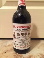 Una Botella La Vencedora Authentic Mexican Vanilla One 31.78 oz Bottle New