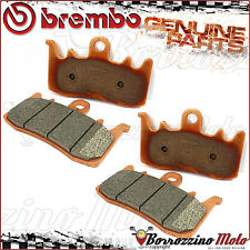 4 FRONT BRAKE PADS BREMBO SINTERED 07BB3884 BMW R 1200 GS - ABS 2015 2016
