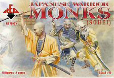 REDBOX 72005 JAPANESE WARRIOR MONKS (SOHEI). 1/72 SCALE