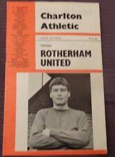 Charlton Athletic v Rotherham United, 8 October 1966.