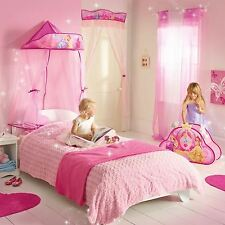 DISNEY PRINCESS HANGING BED CANOPY NEW GIRLS BEDROOM DECOR