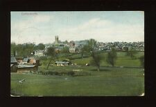 Leicestershire Leics LUTTERWORTH General view Used 1907 PPC by Valentine
