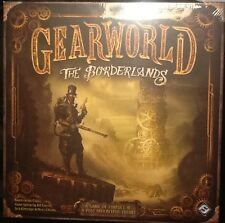 Gearworld The Borderlands Steampunk Board Game MINT Fantasy Flight Games