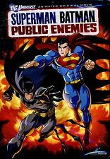NEW DVD // Superman/Batman: Public Enemies // 67 min //  DC UNIVERSE