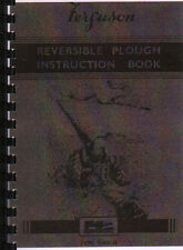 Ferguson (Butterfly} Reversible Tractor Plough Operator Instruction Manual Book