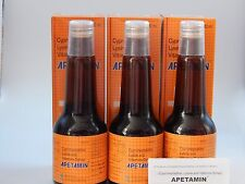 3 x APETAMIN CYPROHEPTADINE LYSINE AND VITAMINS SYRUP FOR APPETITE - 200ml