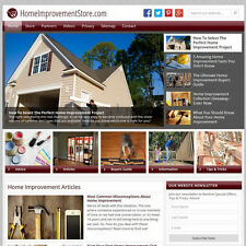 HOME IMPROVEMENT professional WordPress website w/Amazon store - FREE DOMAIN