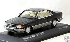 1/43 scale Minichamps 400035121 Mercedes Benz 560 SEC C126 1986 black MIB