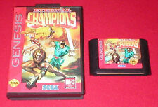 Eternal Champions for the Sega Genesis System Boxed!