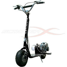 49cc All Terrain Gas Scooter Front Rear Disk Brakes Big Deck 49cc Engine Motor
