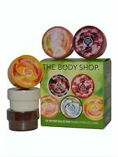 Body Shop Lip Butter Colección-Mango Cherry, Pomelo, Coco, karité