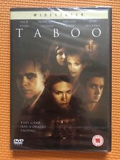 Taboo-Nick Stahl Eddie Kaye Thomas January Jones(R2 DVD)New+Sealed Amber Benson
