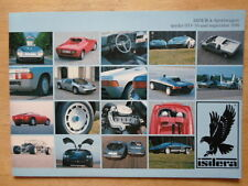 ISDERA Spyder 033-16 & Imperator 108i 1988 brochure prospekt - Mercedes powered