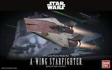 Bandai 1/72 New STAR WARS A-WING STARFIGHTER w/ TURBOLASER from Japan