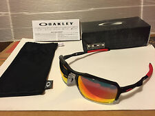 NEW Oakley - Triggerman - Sunglasses, Black Ink / Ruby Iridium, OO9266-10