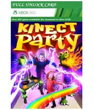 Kinect party Full Unlock Card for XBOX 360 (NOT CD VERSION) - Instant Shipping