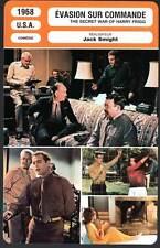 EVASION SUR COMMANDE  Newman,Koscina(Fiche Cinéma)1968 Secret War of Harry Frigg