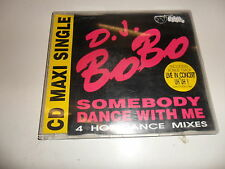 Cd   D.J. BoBo  ‎– Somebody Dance With Me