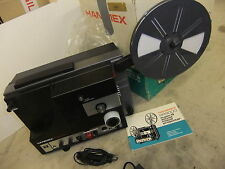 Cine film projector HANIMEX SR9000 super 8mm SOUND + original box used ONCE?inst