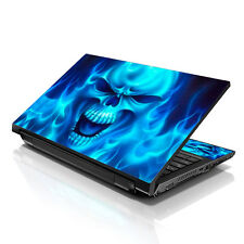 """17.3"""" 18"""" 19"""" Laptop Notebook Skin Sticker Protective Decal Blue Monster L-A120"""
