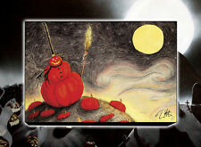 NECA Nightmare Before Christmas PUMPKIN PATCH STRETCHED CANVAS WALL ART  Disney